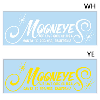 Mooneyes(ムーンアイズ)ロゴ抜きステッカー
