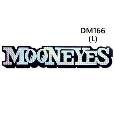 Mooneyes(ムーンアイズ)プリズムロゴステッカー L