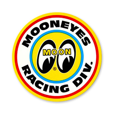 Mooneyes(ムーンアイズ)レ−シングディビジョンステッカー