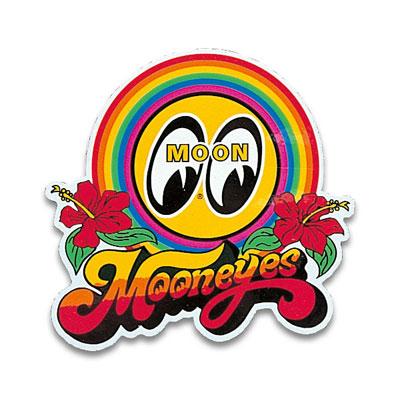 Mooneyes(ムーンアイズ)レインボーステッカー