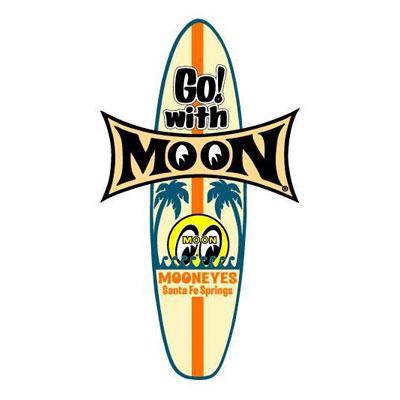 Mooneyes(ムーンアイズ)サーフボードステッカー