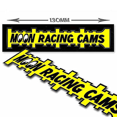 Mooneyes(ムーンアイズ)レーシングカムズステッカー