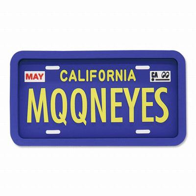 Mooneyes(ムーンアイズ)ラバートレイ カリフォルニアライセンスプレート
