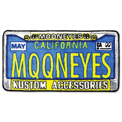 Mooneyes(ムーンアイズ)フロアマット ライセンスフレーム