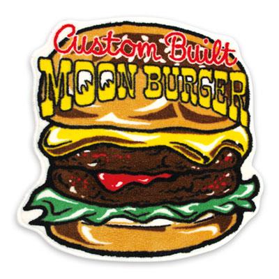 Mooneyes(ムーンアイズ)フロアマット ハンバーガー