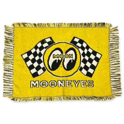 Mooneyes(ムーンアイズ)チェッカームーンラグ