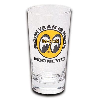 Mooneyes(ムーンアイズ)ロゴグラス