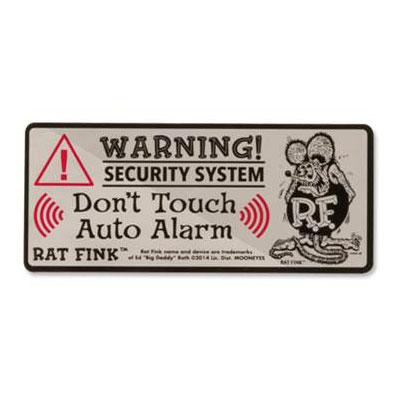 RatFink(ラットフィンク)セキュリティーステッカー