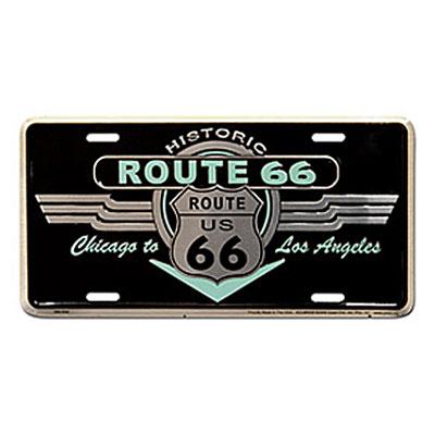 Route.66(ルート66)ライセンスプレート【1】
