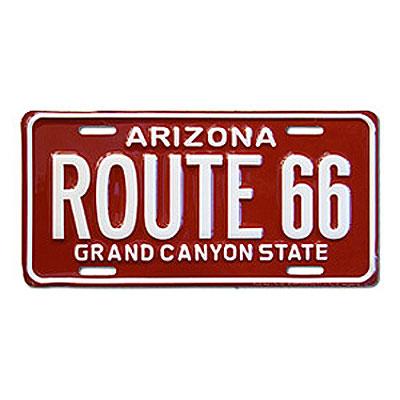 Route.66(ルート66)ライセンスプレート【3】