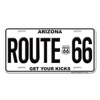 Route.66(ルート66)ライセンスプレート【4】