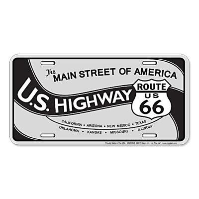 Route.66(ルート66)ライセンスプレート【5】