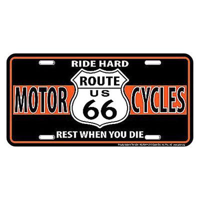 Route.66(ルート66)ライセンスプレート【6】