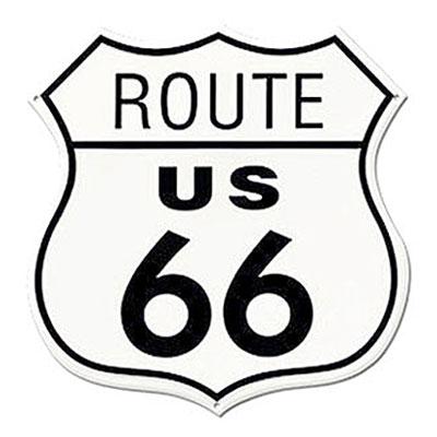 Route.66(ルート66)ティンサイン「RT.66 SHIELD」