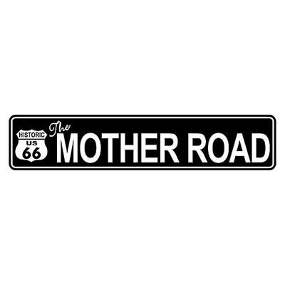Route.66(ルート66)アルミサイン「RT.66 STREET SIGN - BLACK」