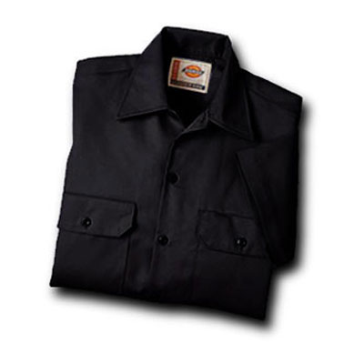Dickies(ディッキーズ)ワークシャツ ショートスリーブ<半袖>  ブラック