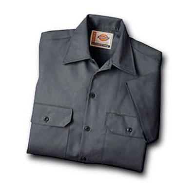 Dickies(ディッキーズ)ワークシャツ ショートスリーブ<半袖>  チャコール