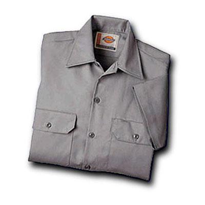 Dickies(ディッキーズ)ワークシャツ ショートスリーブ<半袖>  シルバーグレー