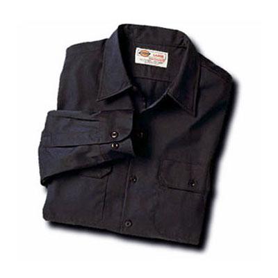 Dickies(ディッキーズ)ワークシャツ ロングスリーブ<長袖> ブラック