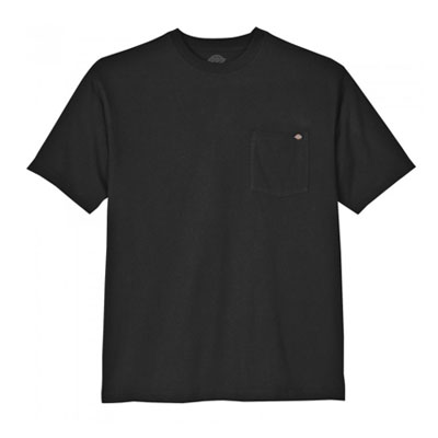 Dickies(ディッキーズ)ヘビーウェイトティーシャツ ショートスリーブ<半袖> ブラック