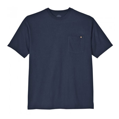 Dickies(ディッキーズ)ヘビーウェイトティーシャツ ショートスリーブ<半袖> ダークネイビー