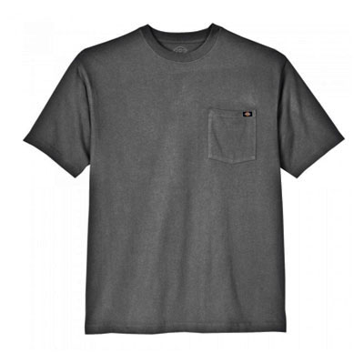Dickies(ディッキーズ)ヘビーウェイトティーシャツ ショートスリーブ<半袖> チャコール