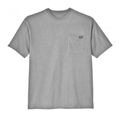 Dickies(ディッキーズ)ヘビーウェイトティーシャツ ショートスリーブ<半袖> ヘザーグレー