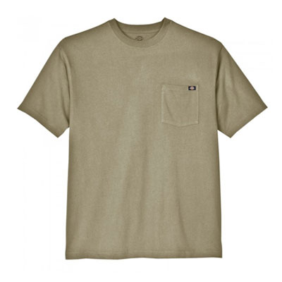 Dickies(ディッキーズ)ヘビーウェイトティーシャツ ショートスリーブ<半袖> デザートサンド