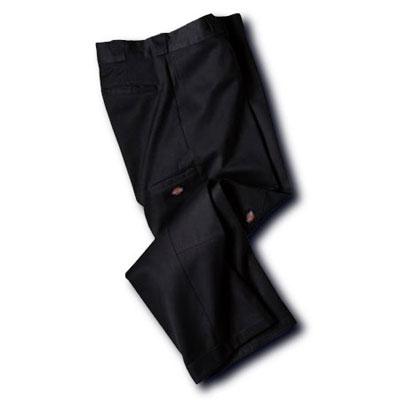 Dickies(ディッキーズ)ダブルニーワークパンツ ブラック