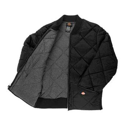 Dickies(ディッキーズ)ダイヤモンドキルティングジャケット ブラック