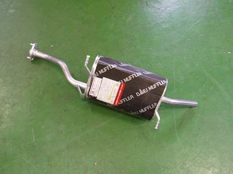 純正タイプ リヤマフラー MSS-9168SUS(スズキ キャリー DA52T DB52T)車検対応 ガスケット付