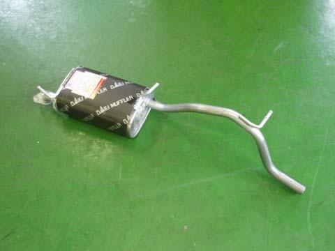 純正タイプ リヤマフラー MSS-9154SUS(スズキ Kei HN21S)車検対応 ガスケット付