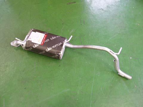純正タイプ リヤマフラー MSS-9170SUS(スズキ Kei HN12S HN22S)車検対応 ガスケット付