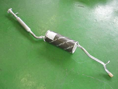純正タイプ リヤマフラー MDH-9281(ダイハツ,オプティ,L310S)車検対応、ガスケット付