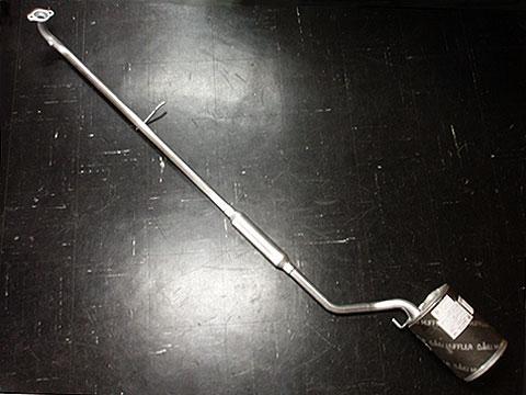 純正タイプ リヤマフラー MDH-9287SUS(ダイハツ,オプティ,L800S)車検対応、ガスケット付