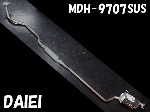 純正タイプ リヤマフラー MDH-9707SUS(ダイハツ,タント,L350S)車検対応、ガスケット付
