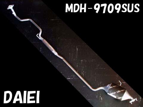 純正タイプ リヤマフラー MDH-9709SUS(ダイハツ,タント,L360S)車検対応、ガスケット付