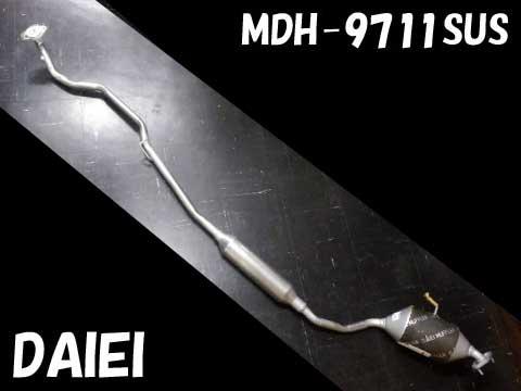 純正タイプ リヤマフラー MDH-9711SUS(ダイハツ,タント,L350S)車検対応、ガスケット付