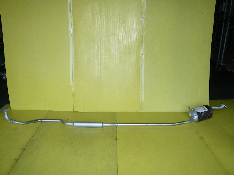 純正タイプ リヤマフラー MDH-9721SUS(ダイハツ,タント,タントエグゼ,L385S,L465S)車検対応、ガスケット付