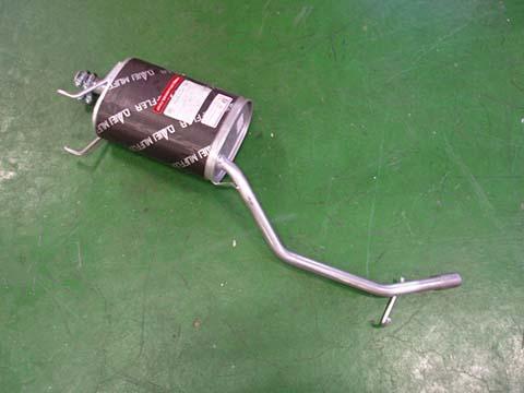 純正タイプ リヤマフラー MDH-9276(ダイハツ,ハイゼット,S120V,S130V)<補給品.クランプ付>車検対応