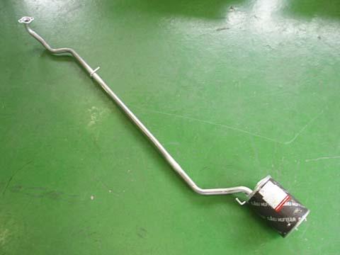 純正タイプ リヤマフラー MDH-9289SUS(ダイハツ,ミラ,L710S,L710V)車検対応、ガスケット付