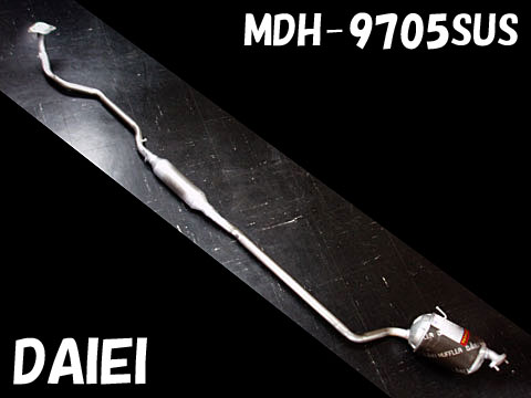 純正タイプ リヤマフラー MDH-9705SUS(ダイハツ,ムーブ,ムーブラテ,L150S,L152S,L550S)車検対応、ガスケット付