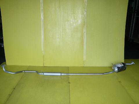 純正タイプ リヤマフラー MDH-9721SUS(ダイハツ,ムーブコンテ,L585S)車検対応、ガスケット付