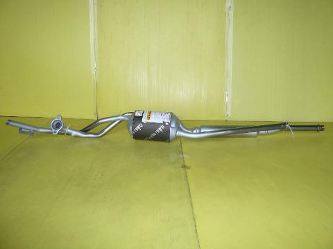 純正タイプ リヤマフラー MDH-9822SPT(スバル,ステラ,LA110F)<セパレート型,オールステンレス>車検対応、ガスケット付