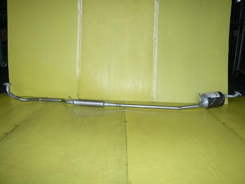 純正タイプ リヤマフラー MDH-9715SUS(スバル,プレオ,L285F)車検対応、ガスケット付