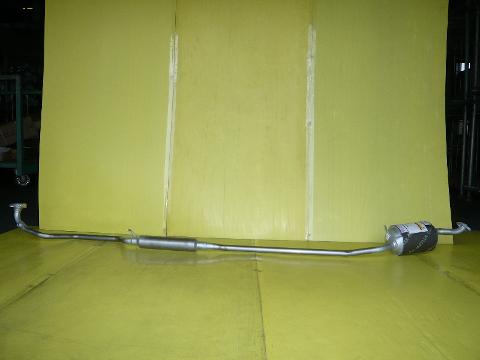 純正タイプ リヤマフラー MDH-9714SUS(スバル,ルクラ,L465F)車検対応、ガスケット付