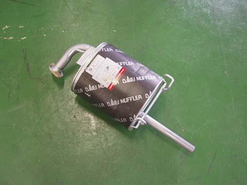 純正タイプ リヤマフラー MHD-7166(ホンダ,パートナー,EY6,EY7,EY9)車検対応、ガスケット付