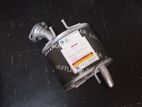 純正タイプ リヤマフラー MHD-7040SUS(ホンダ,ライフ,JB5)車検対応、ガスケット付