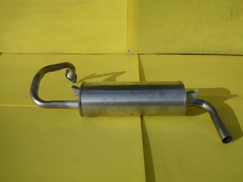 純正タイプ リヤマフラー MMT-6488SUS(三菱,パジェロミニ,H53A,H58A)車検対応、ガスケット付