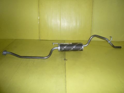 純正タイプ リヤマフラー MMT-6495SUS(三菱,ekワゴン,ekクラッシィ,H81W,H82W,H82A)車検対応、ガスケット付